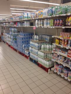 フランスの牛乳
