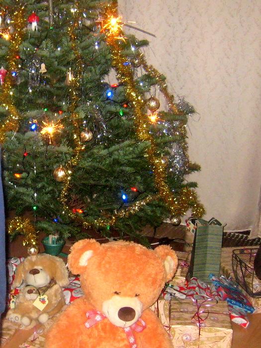 チェコのクリスマスツリー
