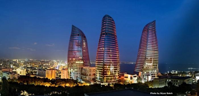 アゼルバイジャンの首都バクー