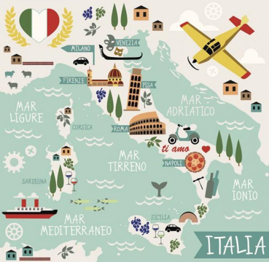 北イタリアと南イタリア
