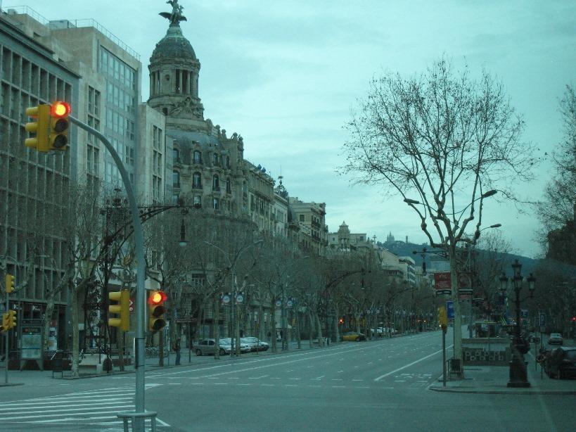 バルセロナの市街地