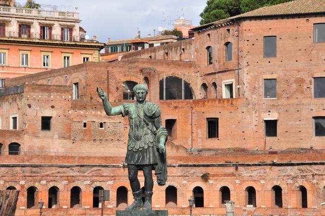 初代ローマ皇帝アウグストゥス