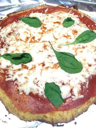 スパゲッティスクオッシュピザ