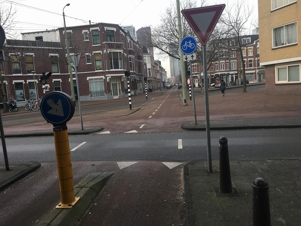 オランダの自転車道路